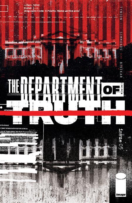 DEPARTMENT OF TRUTH #5 CVR A SIMMONDS (MR)