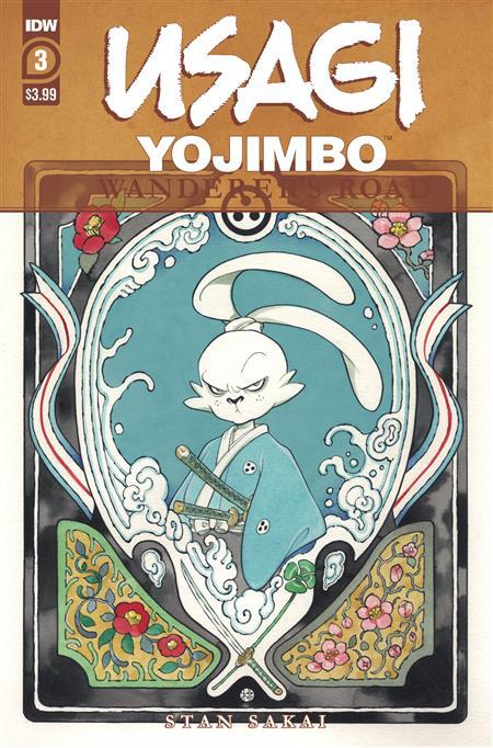 USAGI YOJIMBO WANDERERS ROAD #3 (OF 6) PEACH MOMOKO CVR