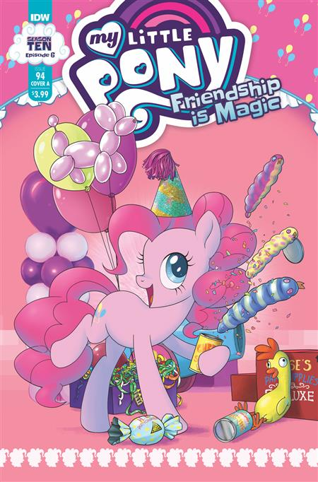 MY LITTLE PONY FRIENDSHIP IS MAGIC #94 CVR A  KUUSISTO (C: 1