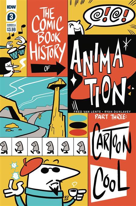 COMIC BOOK HISTORY OF ANIMATION #3 (OF 5) CVR A DUNLAVEY