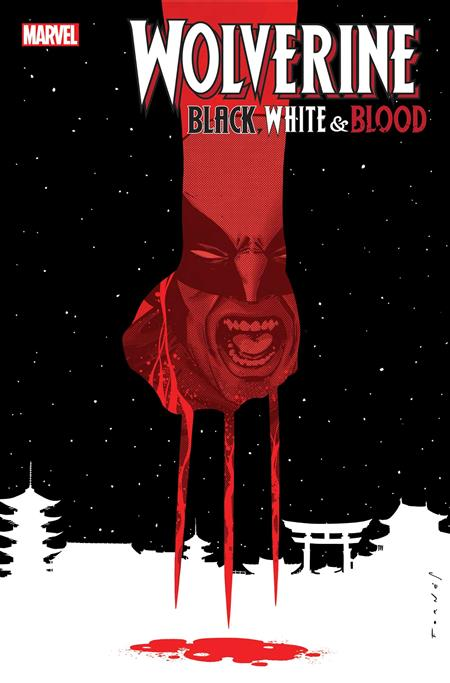WOLVERINE BLACK WHITE BLOOD #3 (OF 4)