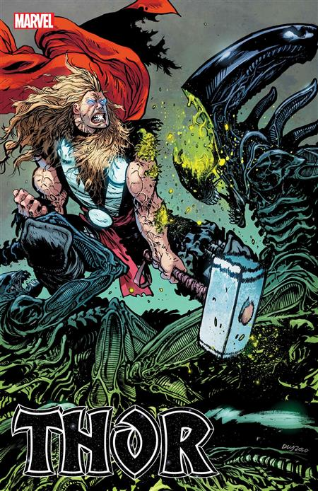 THOR #11 DANIEL WARREN JOHNSON MARVEL VS ALIEN VAR