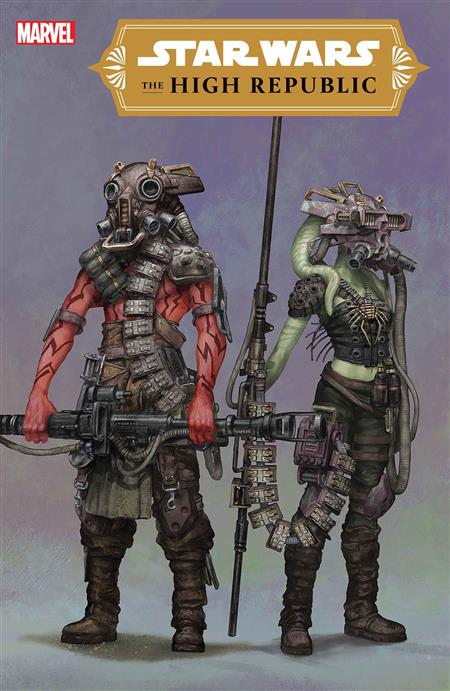 STAR WARS HIGH REPUBLIC #1 (OF 6) BLANCHE KENNY CONCEPT VAR