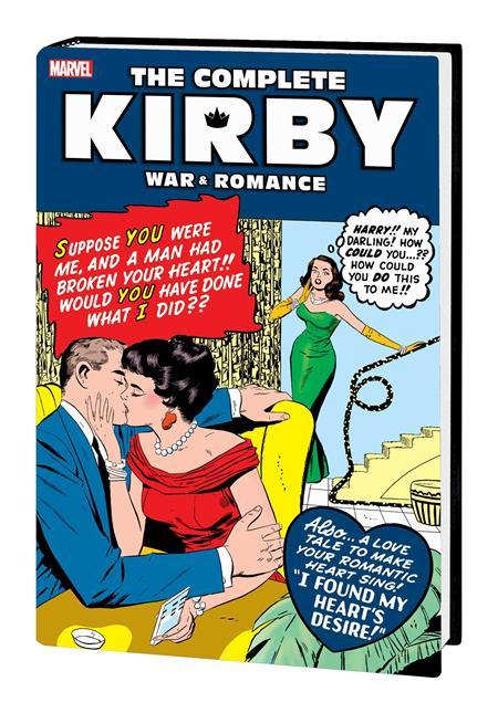 COMPLETE KIRBY WAR AND ROMANCE HC ROMANCE DM VAR