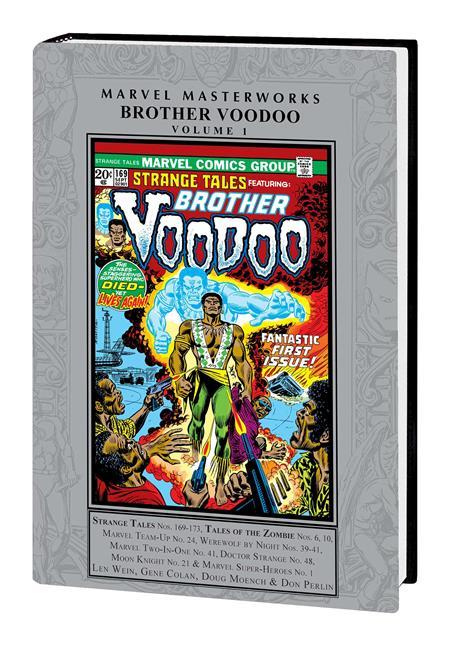 MMW BROTHER VOODOO HC VOL 01