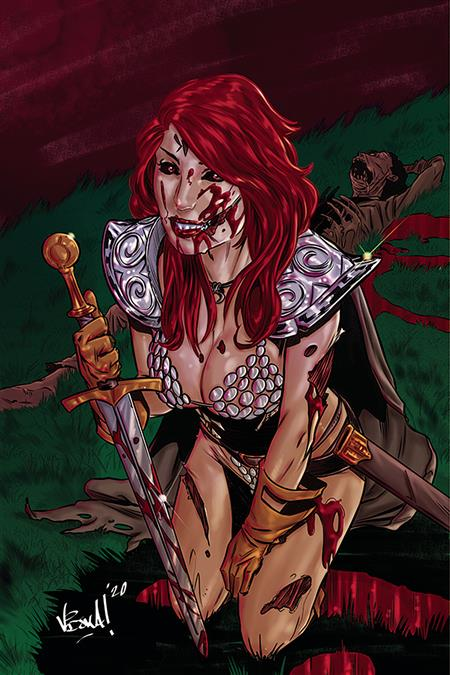 RED SONJA THE SUPERPOWERS #1 20 COPY FEDERICI VIRGIN INCV
