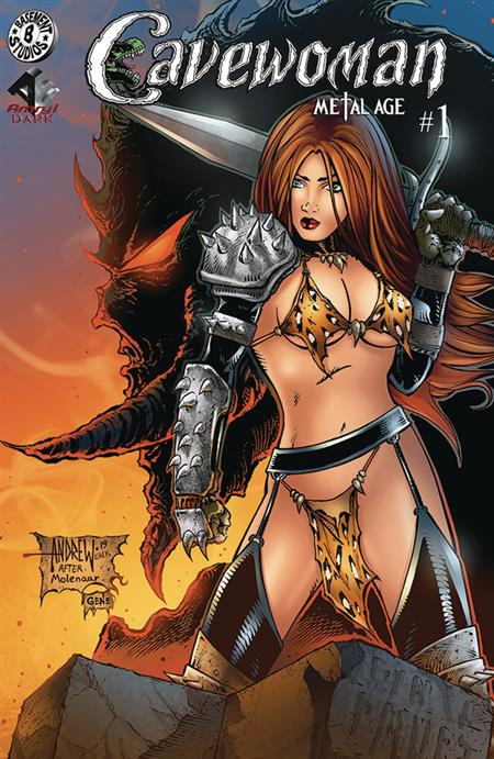 CAVEWOMAN METAL AGE #1 (OF 2) CVR B MANGUM (Net) (MR) (C: 0-
