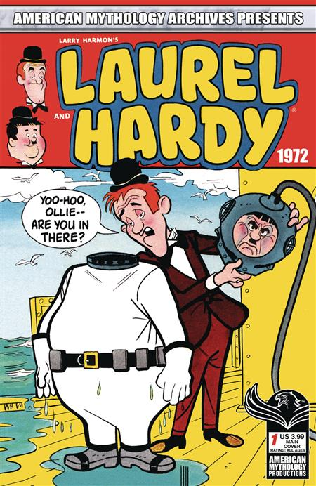 AM ARCHIVES LAUREL AND HARDY 1972 #1 CVR A CLASSIC