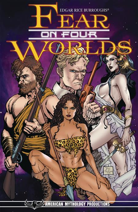 ERB FEAR ON FOUR WORLDS COLL TP