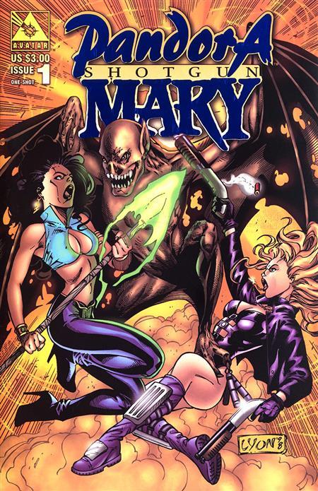 PANDORA / SHOTGUN MARY (1998) #1 ROYAL BLUE VAR (MR) (C: 0-1