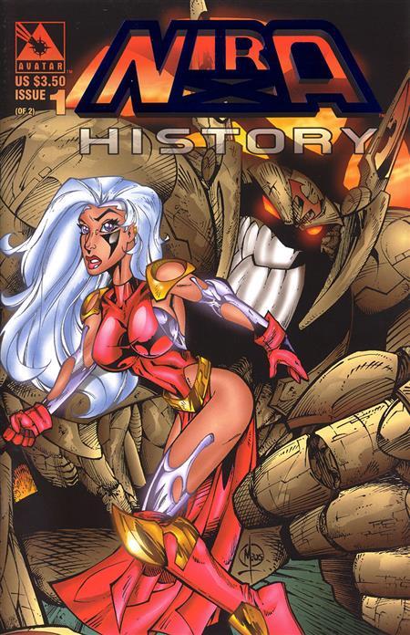NIRA X HISTORY (1997) #1 ROYAL BLUE VAR (MR) (C: 0-1-2)