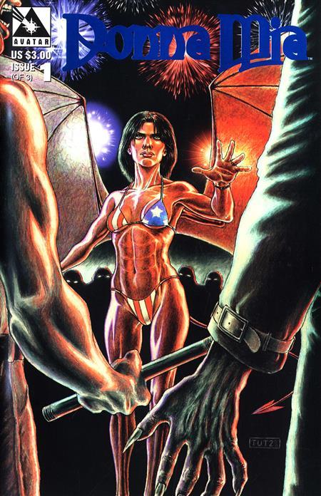 DONNA MIA (1997) #1 ROYAL BLUE VAR (MR) (C: 0-1-2)