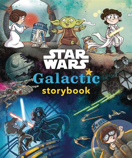 STAR WARS GALACTIC STORYBOOK HC (C: 1-1-0)
