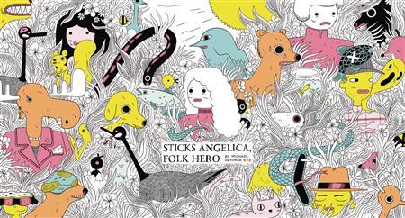 STICKS ANGELICA FOLK HERO HC