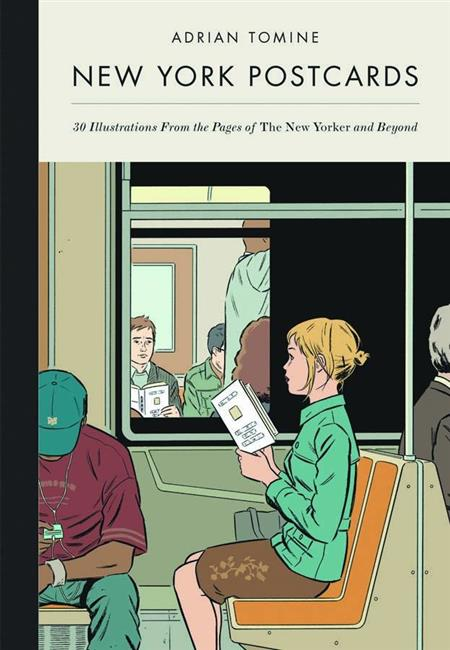 NEW YORK POSTCARDS ADRIAN TOMINE