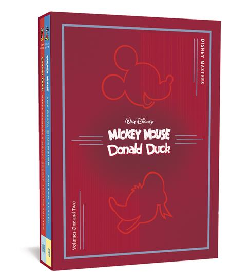 DISNEY MASTERS COLLECTORS HC BOX SET 1 & 2 SCARPA BOTTARO (C