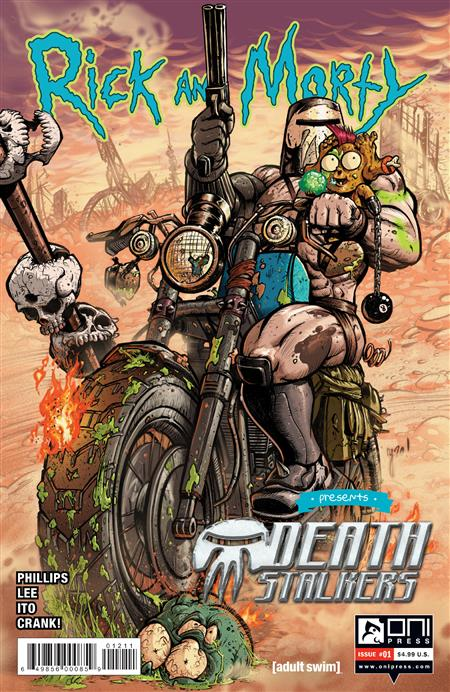 RICK AND MORTY PRESENTS DEATH STALKERS #1 CVR A LEE