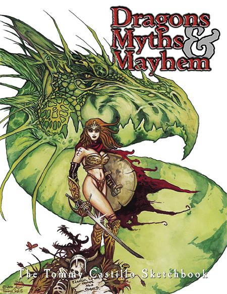 DRAGONS MYTHS AND MAYHEM TP (MR)