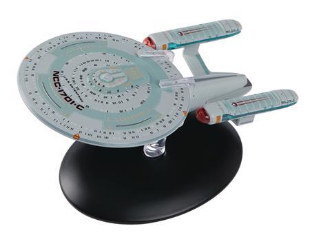STAR TREK STARSHIPS BEST OF FIG #10 USS ENTERPRISE NCC-1701C