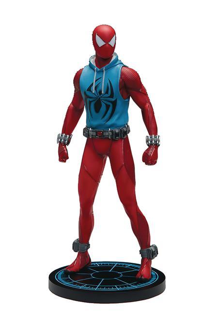 MARVEL ARMORY SPIDER-MAN SCARLET SPIDER 1/10 RESIN STATUE (N