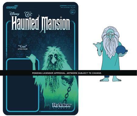 DISNEY HAUNTED MANSION GUS PRISONER GHOST REACTION FIGURE (N