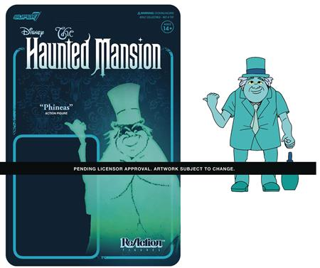 DISNEY HAUNTED MANSION PHINEAS TRAVEL GHOST REACTION FIGURE