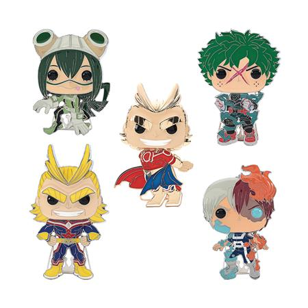 POP ANIME MY HERO ACADEMIA LARGE ENAMEL PIN 12PC ASST (C: 1-