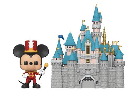 POP TOWN DISNEY 65TH CASTLE WITH MICKEY VIN FIG (C: 1-1-2)