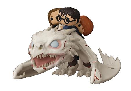 POP RIDES DRAGON WITH HARRY RON & HERMIONE VIN FIG (C: 1-1-2