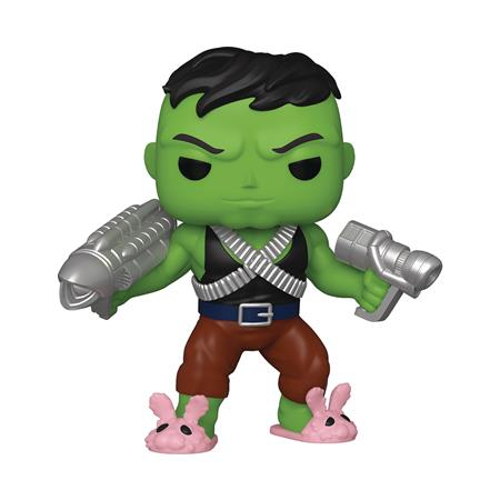 POP SUPER MARVEL HEROES PROFESSOR HULK PX 6IN VIN FIG W/CHAS