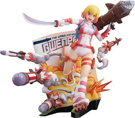 GWENPOOL BREAKING THE FOURTH WALL PVC STATUE (C: 1-1-2)