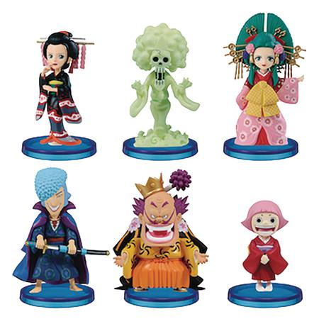 ONE PIECE WORLD WANOKUNI6 COLLECTIBLE 12PC BMB FIG ASST (C:
