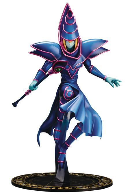 YU-GI-OH DARK MAGICIAN ARTFX J STATUE (Net) (C: 1-1-2)