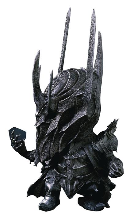 LORD OF THE RINGS DF SAURON DEFO REAL POLYRESIN STATUE (Net)
