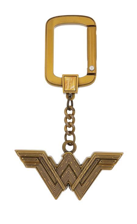 DC WONDER WOMAN LOGO PEWTER KEY RING (C: 1-1-0)