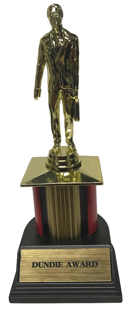 THE OFFICE DUNDIE AWARD TROPHY REPLICA (C: 1-1-2)