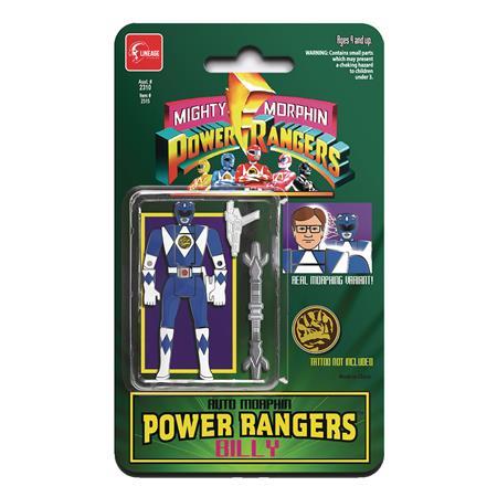 POWER RANGERS AUTO MORPHIN BLUE RANGER ENAMEL PIN (C: 0-1-2)