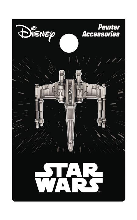 STAR WARS X-WING PEWTER LAPEL PIN (C: 1-1-2)