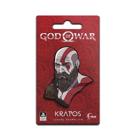 GOD OF WAR KRATOS ICON PIN (C: 0-1-2)