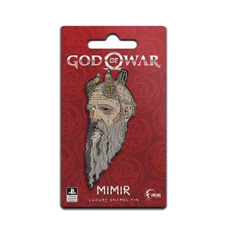 GOD OF WAR MIMIR ICON PIN (C: 0-1-2)