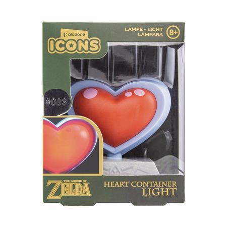 LEGEND OF ZELDA HEART CONTAINER 3D LIGHT (C: 1-1-2)