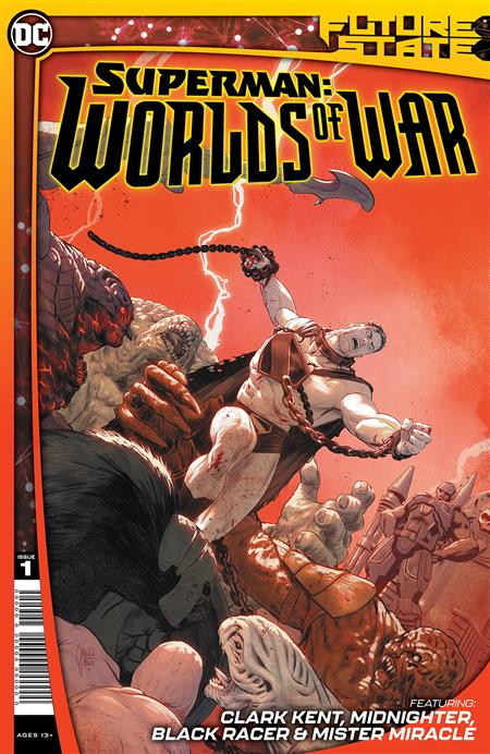FUTURE STATE SUPERMAN WORLDS OF WAR #1 (OF 2) CVR A MIKEL JANIN