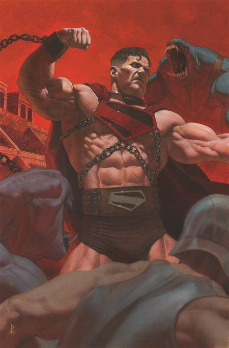 FUTURE STATE SUPERMAN WORLDS OF WAR #1 (OF 2) CVR B RICCARDO FEDERICI CARD STOCK VAR