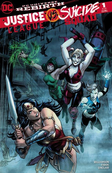 JUSTICE LEAGUE SUICIDE SQUAD #1 (OF 6) DCBS VAR ED