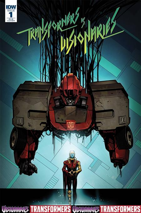 Cvr B Transformer vs Visionaries #1 IDW