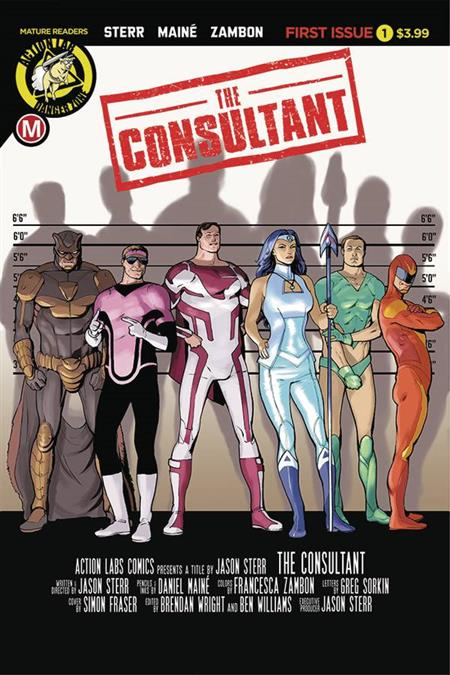 CONSULTANT #1 (OF 4) (MR) *Special Discount*
