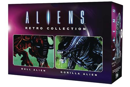 ALIENS RETRO FIG COLL #2 BULL & GORILLA SET (C: 0-1-2)