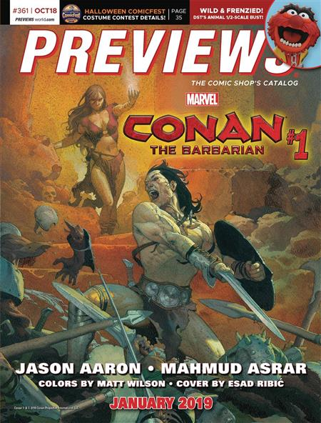PREVIEWS #363 DECEMBER 2018 * Includes a FREE DC Previews