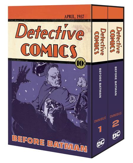 DETECTIVE COMICS BEFORE BATMAN OMNIBUS HC VOL 1 & 2