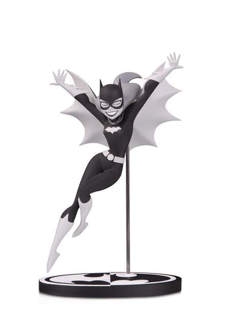 BATMAN BLACK & WHITE BATGIRL BY BRUCE TIMM STATUE